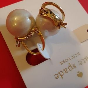 New!♠️kate spade Pearl Drop Earrings!♠️